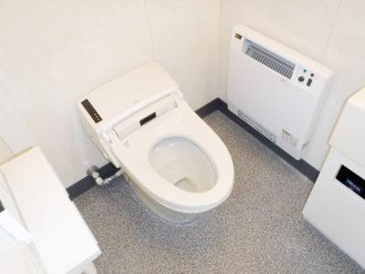 トイレ施設の施工