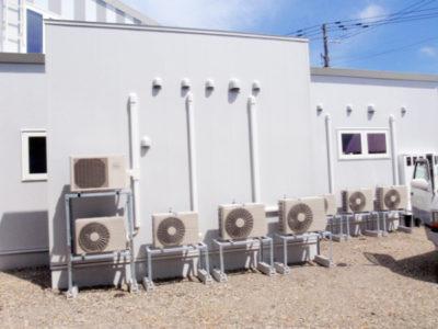 空調・エアコンの設置工事事例1