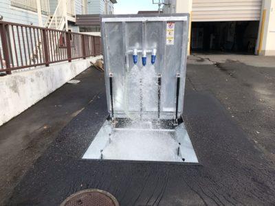 融雪機更新工事