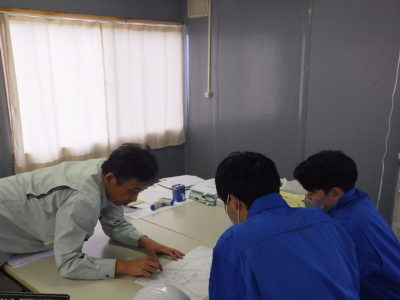 工業高校生インターンシップを実施しました。